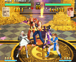 THE KING OF FIGHTERS ALLSTAR GOLDステージ